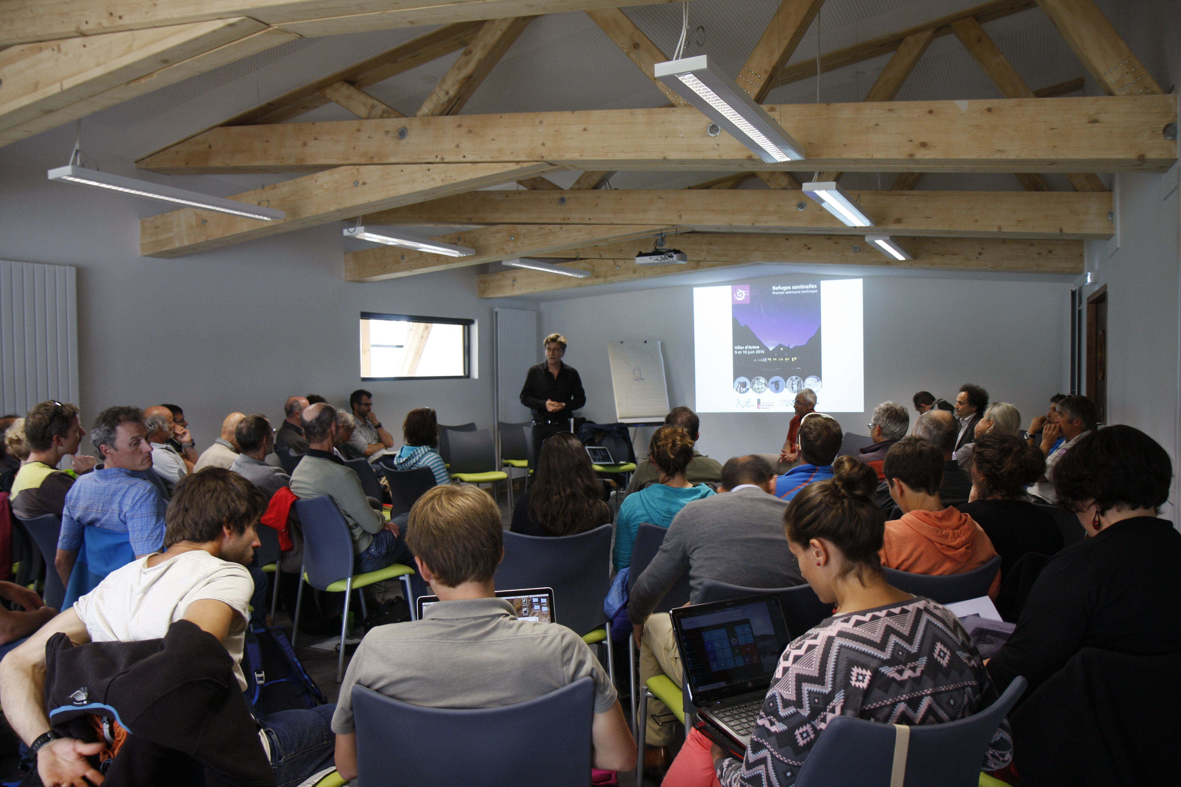 Séminaire de co-construction des questions de recherche avec les partenaires socio-professionnels et académiques du dispositif  - Juin 2016 - Jardin alpin du Lautaret -